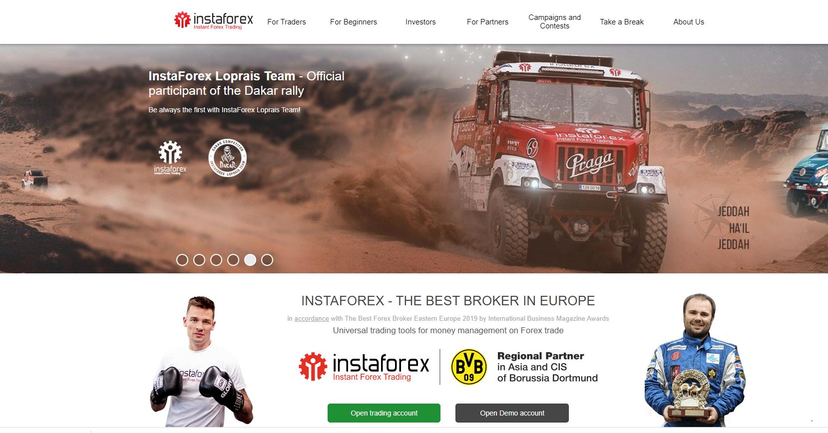Insta forex website